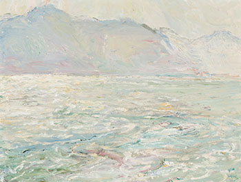 Rough Waters, Kootenay Lake by Frederick Horsman Varley