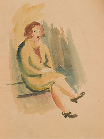 Seated Woman (Streetcar) by Miller Gore Brittain