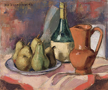 Nature morte aux poires by Paul Vanier Beaulieu