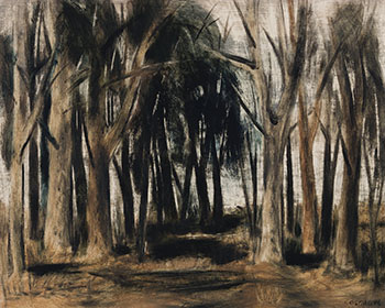 View Through a Forest by Stanley Morel Cosgrove