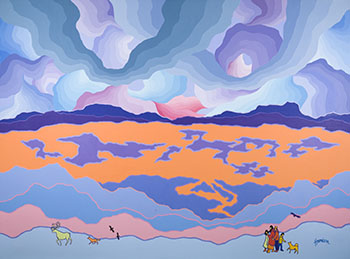 Glorious Lone Land by Ted Harrison