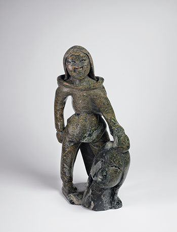 Figure with Head by Kiawak Ashoona