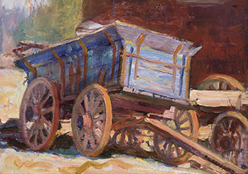 The Blue Wagon by Peter Clapham Sheppard