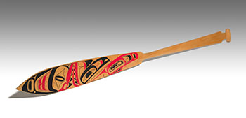 Haida Shark Paddle by Reg Davidson