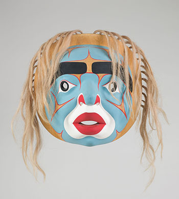 Bella Coola Moon Mask by Beau Dick