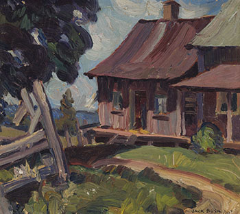 The Old Farmhouse by Jack Hamilton Bush