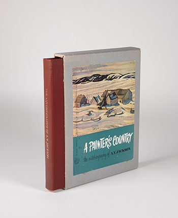A Painter's Country, the Autobiography of A.Y. Jackson by Alexander Young (A.Y.) Jackson