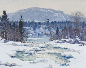 The North River, Mt. Rolland, PQ by Robert Wakeham Pilot