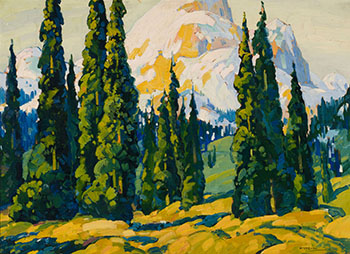 Landscape with Trees by Graham Noble Norwell