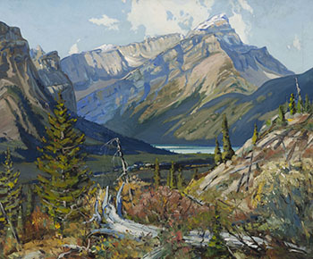 Mount Assiniboine by Frank Shirley Panabaker