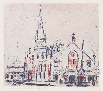 St. Michael's Cathedral by David Brown Milne