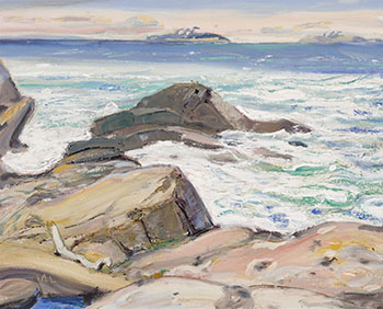 Open Water, Georgian Bay by Arthur Lismer
