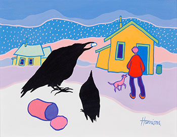 Garbage Lovers by Ted Harrison