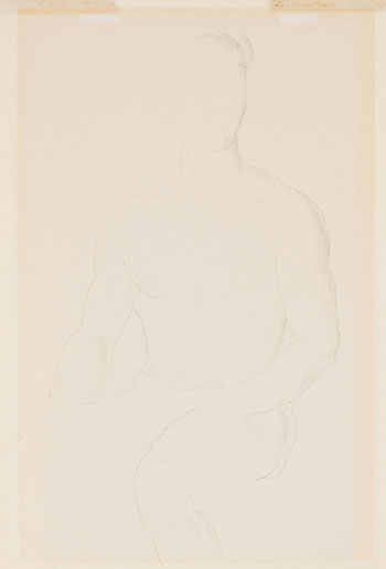 Male Nude by Lionel Lemoine FitzGerald