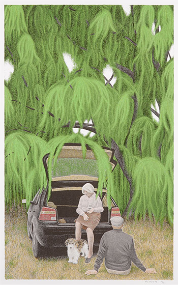 Willow by Alexander Colville