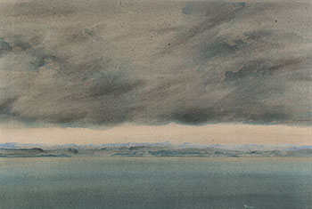 Looking East to the Mainland 2/82 by Takao Tanabe